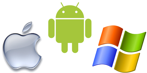 Applicazioni Android, iPhone, iPad, Windows